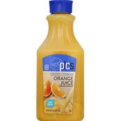 PICS Orange Juice, Calcium + Vitamin D, No Pulp