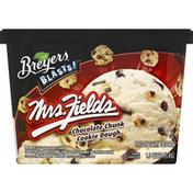 Breyers Frozen Dairy Dessert Mrs. Fields Chocolate Chunk Cookie Dough