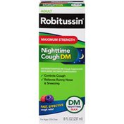 Robitussin Syrup Nighttime Cough Medicine, Nighttime Cough Medicine