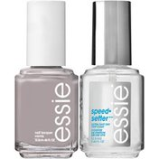Essie Without a Stitch Polish & speed.setter Top Coat Nail Polish & Top Coat Kit
