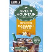 Green Mountain Coffee Roasters Coffee, Brew Over Ice, Hazelnut Cream, K-Cup Pods