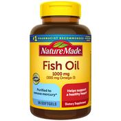 Nature Made Fish Oil 1000 mg Softgels