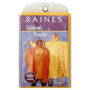 Totes Poncho, Waterproof, Youth, One Size Fits Most