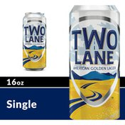 Two Lane American Golden Lager Beer Can