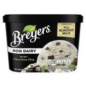 Breyers Non Dairy Frozen Dessert Mint Chocolate Chip