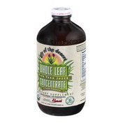 Lily of the Desert Aloe Vera Juice Whole Leaf Concentrate Dietary Supplement
