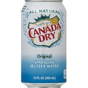 Canada Dry Sparkling Seltzer Water, Original