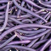 Organic Purple Wax Beans