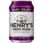 Henry's Hard Soda Grape Hard Soda
