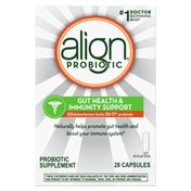 Align Probiotic, Gut Health & Immunity Support, #1 Doctor Recommended