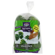 Pero Bell Peppers, Organic, Value Pack