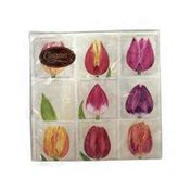 Spring Tulips Luncheon Napkins