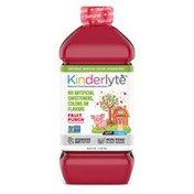 Kinderlyte Natural Oral Electrolyte Solution Fruit Punch
