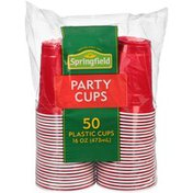 Springfield Party 16 oz Plastic Cups