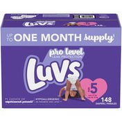 Luvs Pro Level Leak Protection Diapers Size 5
