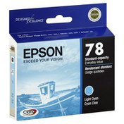 Epson Ink Cartridge, Light Cyan, 78