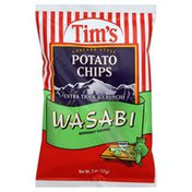 Tims Potato Chips, Cascade Style, Wasabi