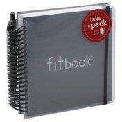 Fitbook Fitness & Nutrition Journal, 12 Week, Black, Shrinkwrapped