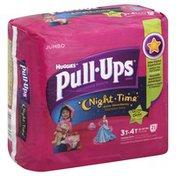 Huggies Pull-Ups DisneyTraining Pants Night Time Glow In The Dark Size 3T-4T - 21 CT