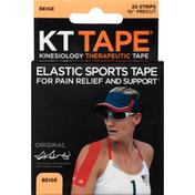 KT Tape Cotton Kinesiology Tape - Beige