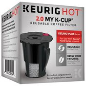 Keurig Dr Pepper Hot 2.0 My K-Cup Reusable Coffee Filter