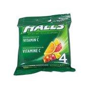 Halls Assorted Citrus Vitamin C Supplement Drops