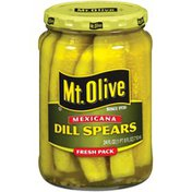 Mt. Olive Dill Spears Mexicana Fresh Pack Pickles