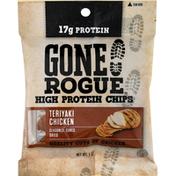 Gone Rogue Chips, High Protein, Teriyaki Chicken