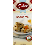 Fisher Scone Mix, Cranberry Orange