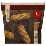 La Brea Bakery Baguettes, French Demi, 4 Pack