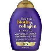 OGX Shampoo, Thick & Full + Biotin & Collagen