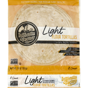 La Tortilla Factory Tortillas, Flour, Light