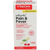 TopCare Infants' Pain & Fever Acetaminophen 160 Mg Per 5 Ml Pain Reliever/fever Reducer, Cherry Flavor