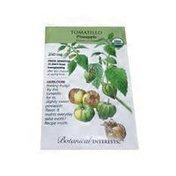 Botanical Interests 2016 Organic Pineapple Tomatillo Seeds