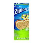 Ziploc Sandwich Bags - 50 CT