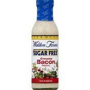 Walden Farms Dressing, Creamy Bacon, Sugar Free