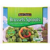 Best Choice Fresh Frozen Grade A Fancy Brussel Sprouts