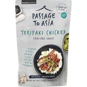 Passage to Asia Stir-Fry Sauce, Teriyaki Chicken