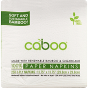Caboo Paper Napkins, 1-Ply