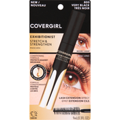 CoverGirl Mascara, Exhibitionist, Stretch & Strengthen, Very Black 800