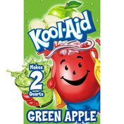 Kool-Aid Unsweetened Green Apple Artificially Flavored Powdered Soft Drink Mix