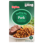 Hy-Vee Pork Herbs & Spices Blended With Bread Crumbs Stuffing Mix