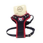 """Bond & Co. Extra Small/Small Black Horn Tough Fashion Harness for Chests 12""""-18"""""""