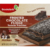 Brookshire's Toaster Pastries, Chocolate Fudge, Frosted