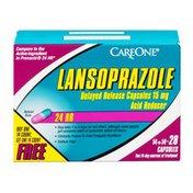 CareOne Lansoprazole Acid Reducer Delayed Release Capsules 15 mg - 28 CT