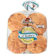 Barowsky's Deli Kaiser Enriched 8 ct Rolls