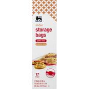 Food Lion Storage Bags, Slider, Gallon Size
