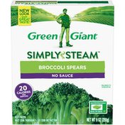 Green Giant No Sauce Broccoli Spears