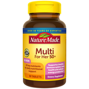 Nature Made Multivitamin For Her 50+ Tablets with No Iron