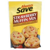 Always Save Strawberry Muffin Mix With Imitation